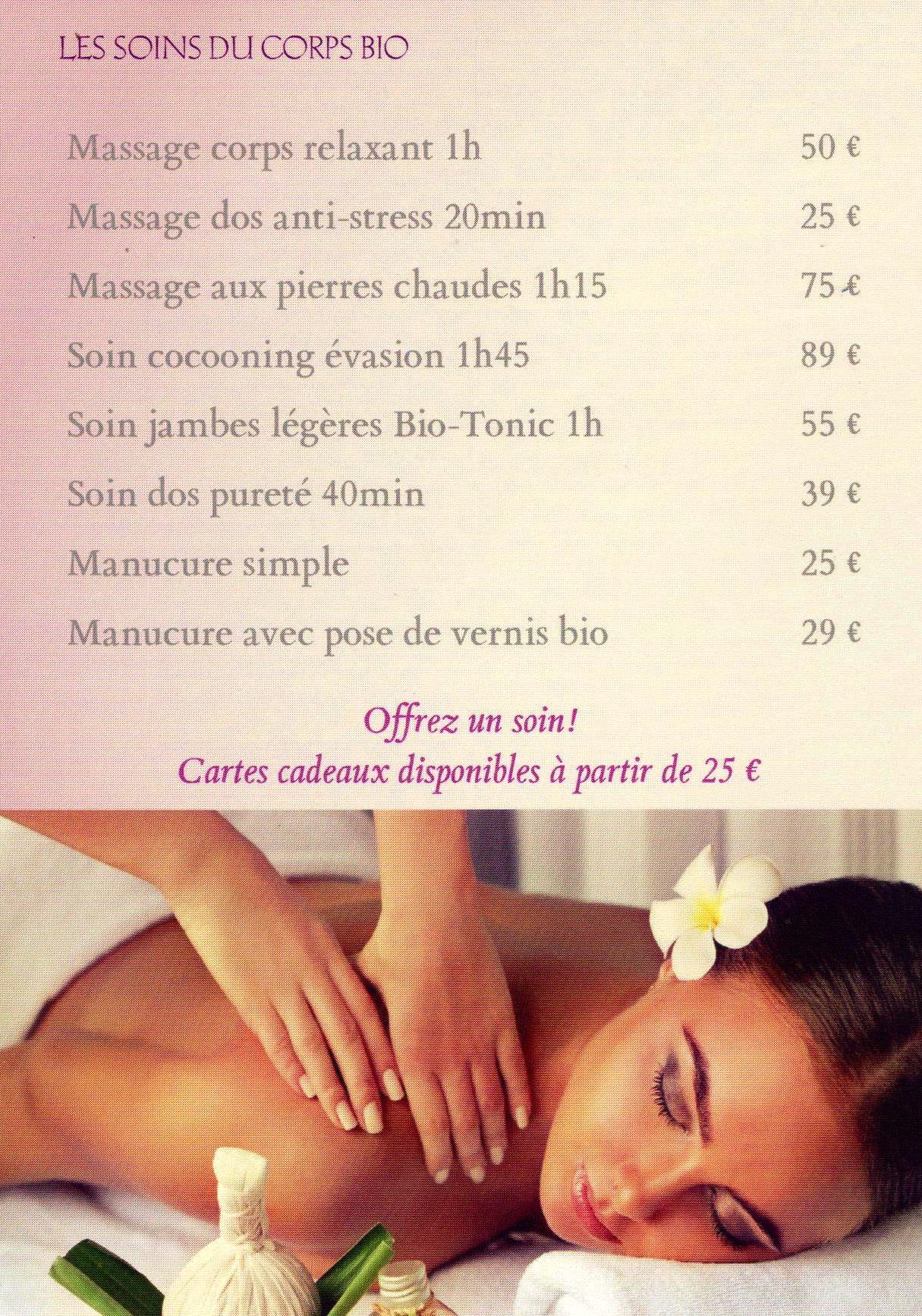 Tarifs massages 001